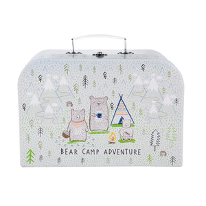 Bear Camp Suitcase Play Set