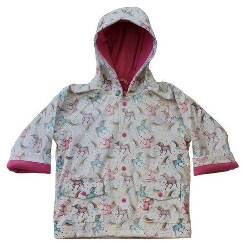 Rainbow Unicorn Raincoat