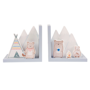 Bear Camp Bookends