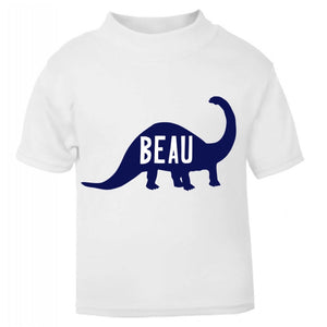 Personalised Diplodocus T Shirt