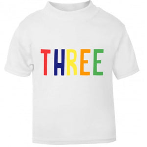 Rainbow Name T Shirt