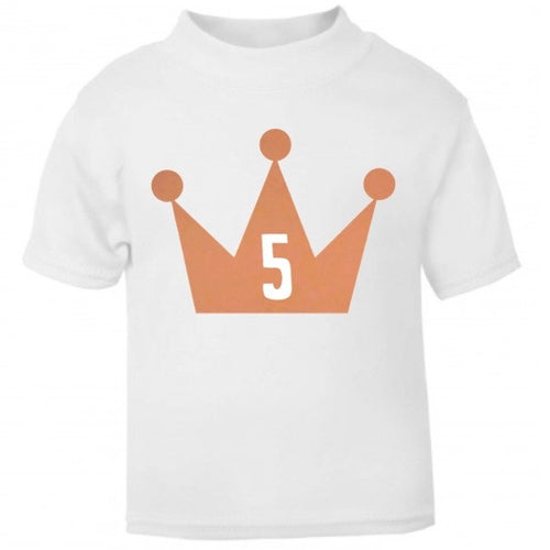 Personalised Crown T Shirt