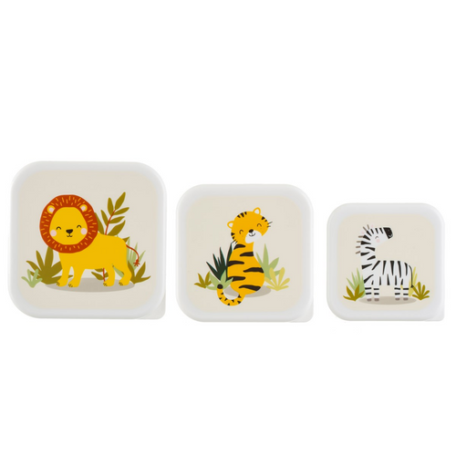 Set of 3 Savannah Lunch Boxes