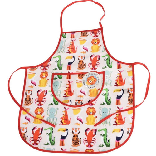 Colourful Creatures Apron