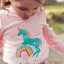 Load image into Gallery viewer, Sparkly Unicorn Top