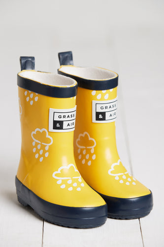 Yellow Colour Revealing Wellies