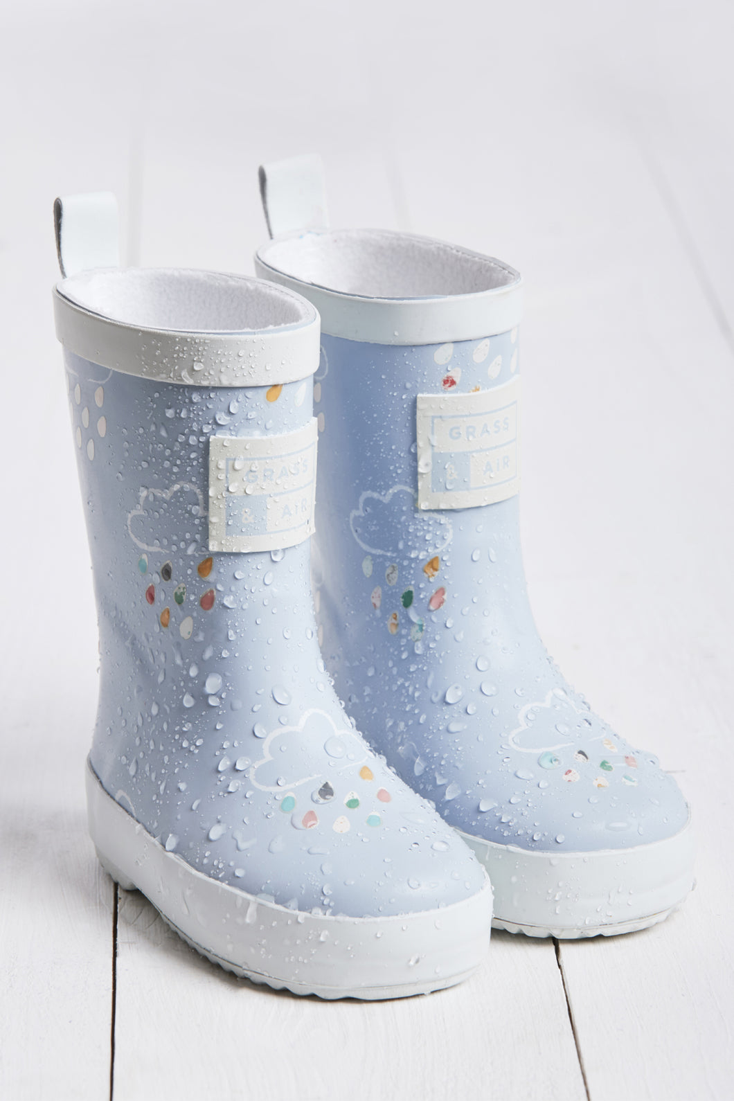 Blue Colour Revealing Wellies