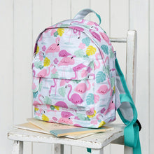 Load image into Gallery viewer, Flamingo Bay Mini Backpack