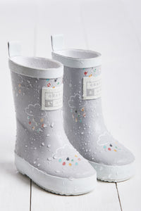 Grey Colour Revealing Wellies