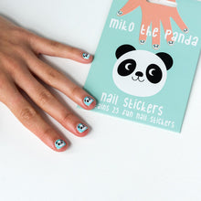 Load image into Gallery viewer, Miko The Panda Nail Stickers