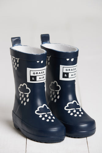 Navy Colour Revealing Wellies
