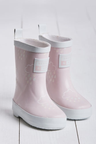 Pink Colour Revealing Wellies