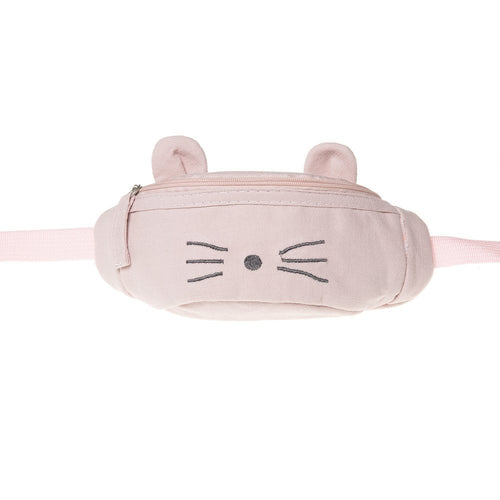 Pink Mouse Bum Bag