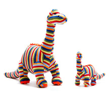 Load image into Gallery viewer, Stripe Diplodocus Rattle
