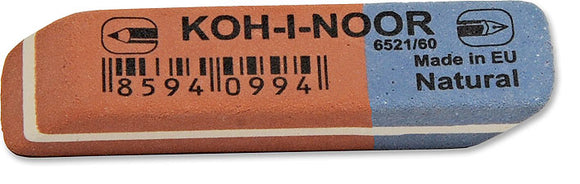 Koh-I-Noor  -  Conbined Eraser 6521/60 Small (Soft and Hard)