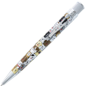 Retro 51 Tornado Deluxe Rollerball Pen - Dog Rescue (Series 3)