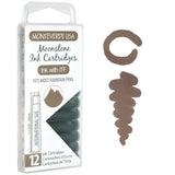 Monteverde 12 Pack of Standard Ink Cartridges 9 Different Colours Available