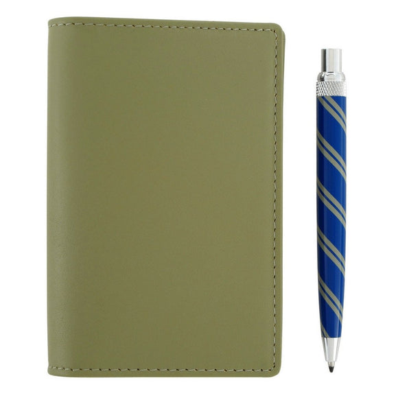 Retro 51 Traveller Notepad and Ballpoint Pen - Green