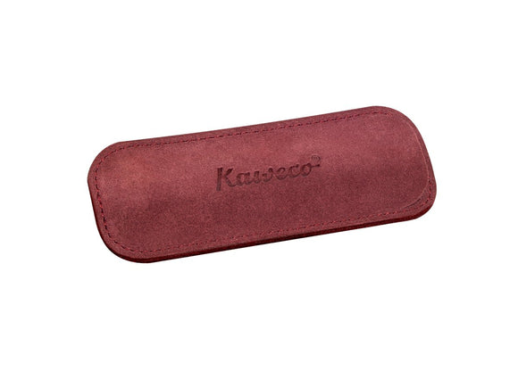 Kaweco Velour Eco Pouch for 2 Sport Pen- Bordeaux