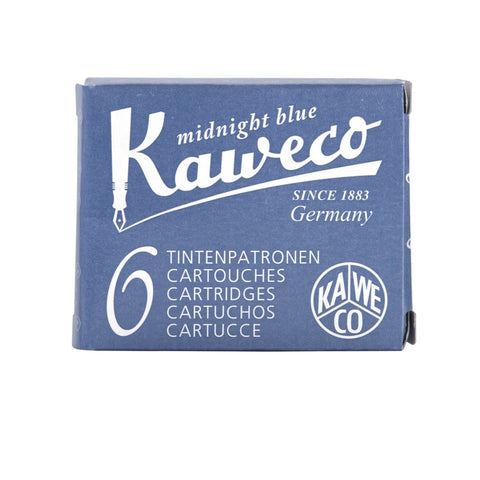 Kaweco Ink Cartridges - Midnight Blue