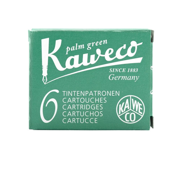 Kaweco Ink Cartridges - Palm Green