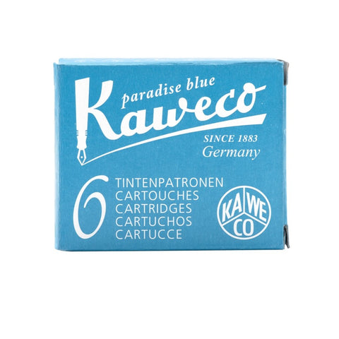 Kaweco Ink Cartridges - Paradise Blue