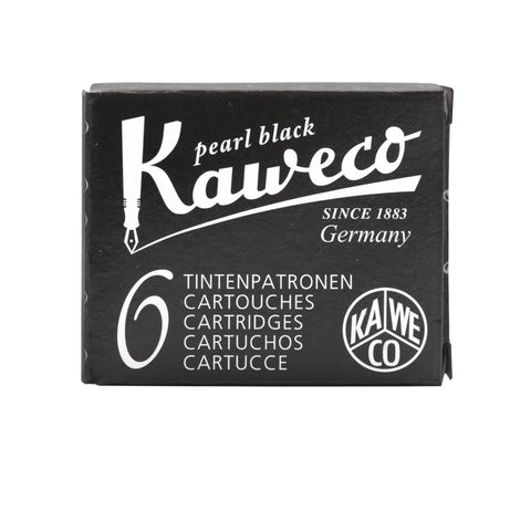 Kaweco Ink Cartridges - Pearl Black
