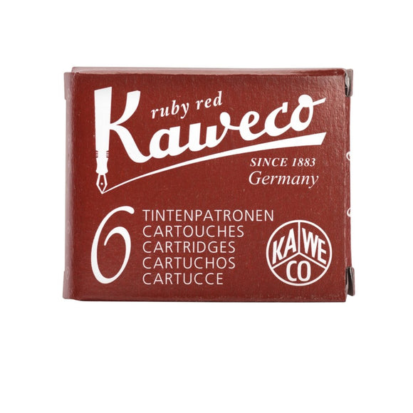 Kaweco Ink Cartridges - Ruby Red