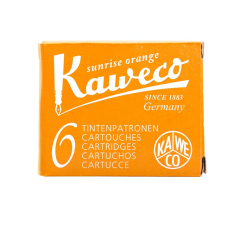 Kaweco Ink Cartridges - Sunrise Orange