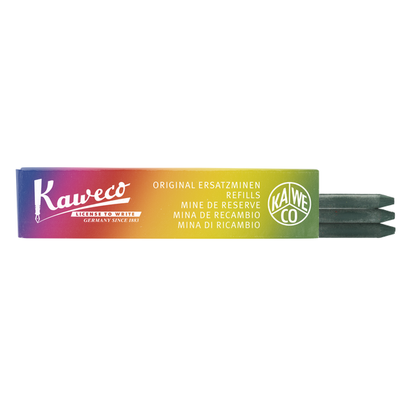 Kaweco Pencil Leads- All Purpose - Green - 5.6 mm