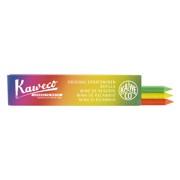 Kaweco Pencil Leads- Highlighter Mix - 5.6 mm