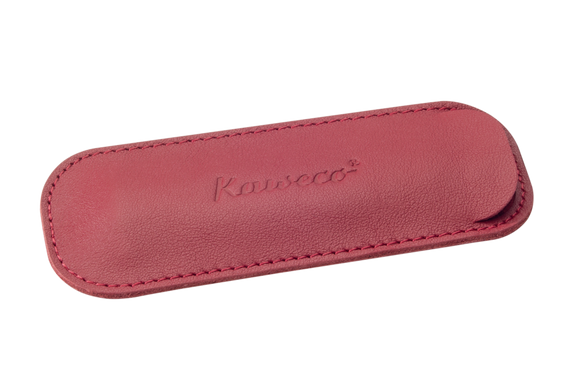 Kaweco ECO Leather Pen Pouch for 2 Sport Pen - Chilli Pepper