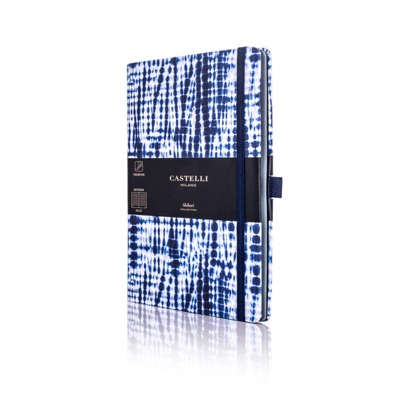 Shibori Medium Notebook - Juta