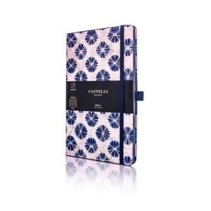 Shibori Medium Notebook - Flowers