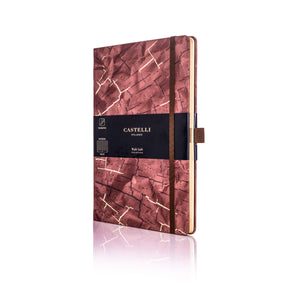 Wabi Sabi Medium Ruled Notebook - Bark