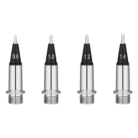Yookers Yooth 751 Fiber-tip Pen - Front Sections