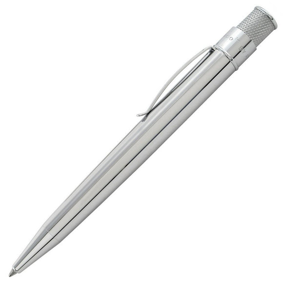 Retro 51 Tornado Snapper Ballpoint Pen - Chrome