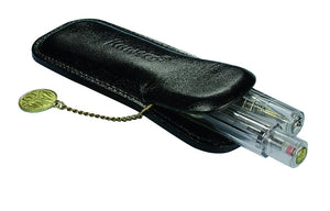 Kaweco Classic Leather Pen Pouch for 2 Sport Series Pens - Black Pen Pouches - we love pens