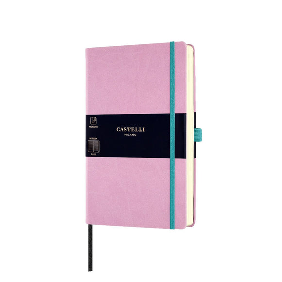 Aquarela Medium Ruled Notebook - Mallow