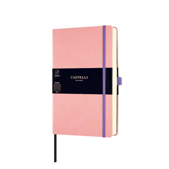 Aquarela Medium Ruled Notebook - Cipria