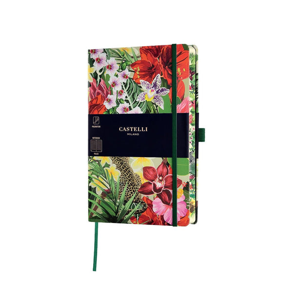 Copy of Eden Medium Ruled Notebook - Leopard