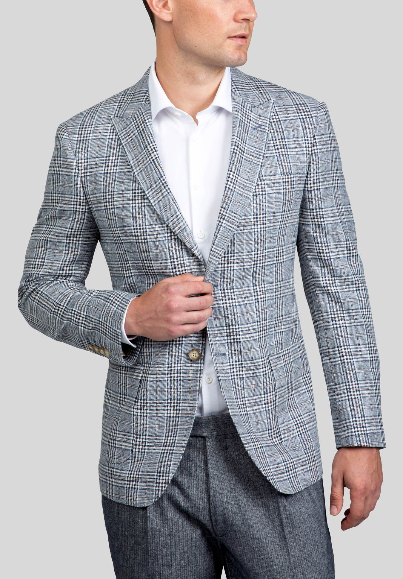 COLUMBUS SPORTS JACKET FAJ790 - Tobacco