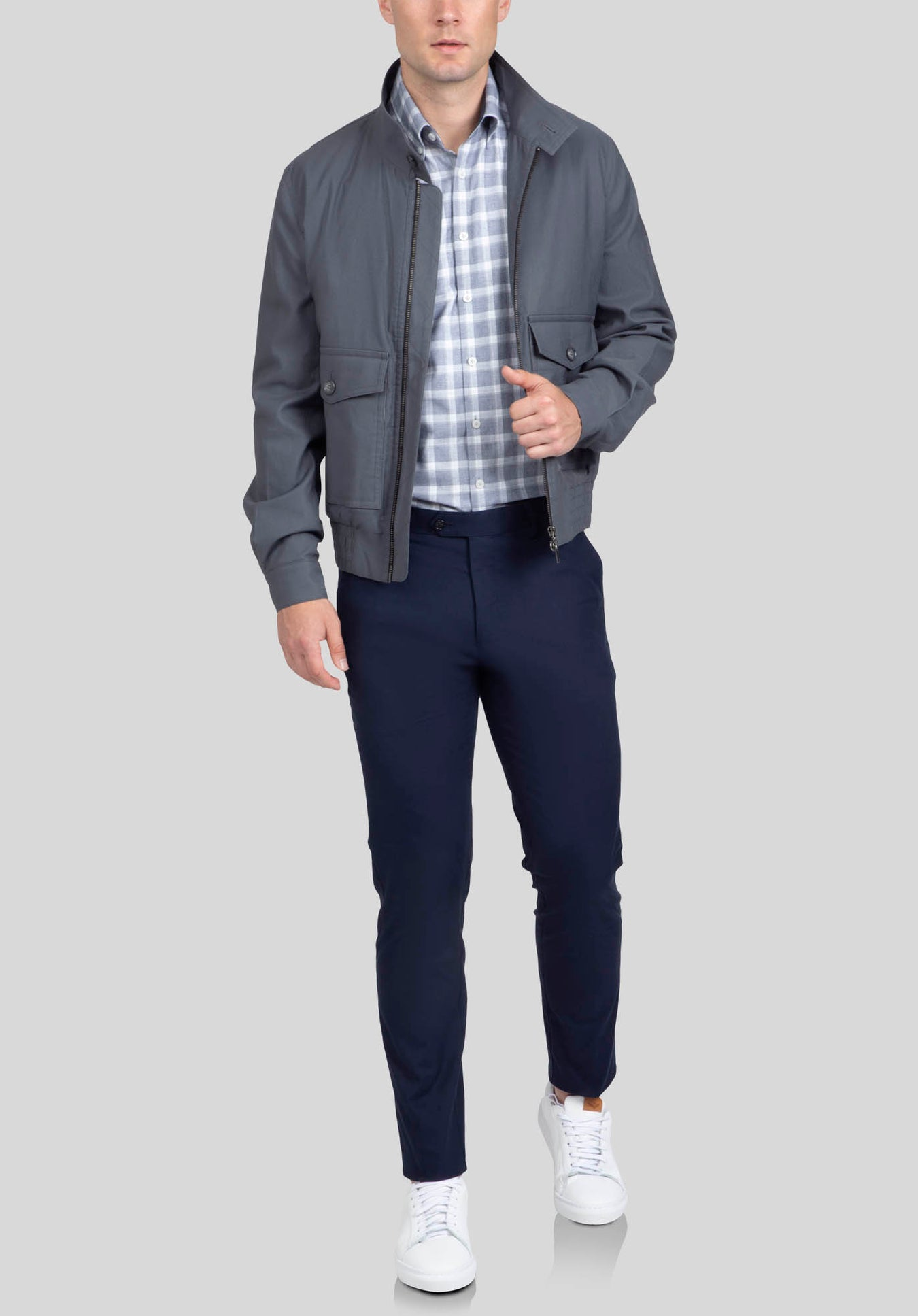 BOWMAN CASUAL JACKET FMF535 - Grey