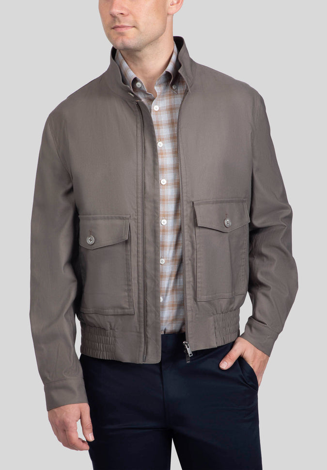 BOWMAN CASUAL JACKET FMF535 - Taupe