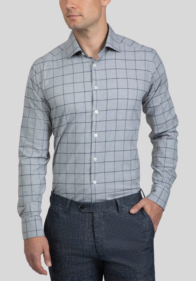 BRYSON SHIRT FAJ771 - Grey