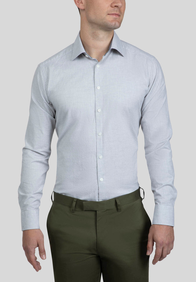 BRYSON SHIRT FAJ772 - Light Grey