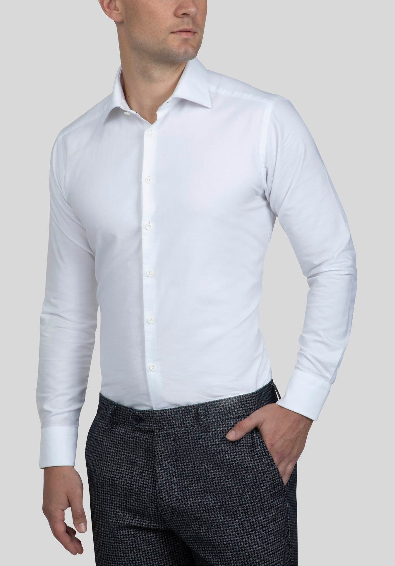 BRYSON SHIRT FAJ723 - White