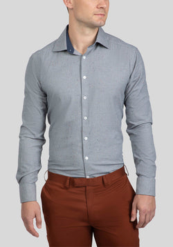 BRYSON SHIRT FAJ767 - Grey