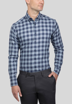 DAYTON SHIRT FAJ769 - Blue
