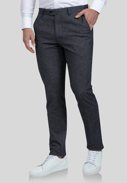 ABRAMS CASUAL TROUSER FAJ703 - Dark Navy